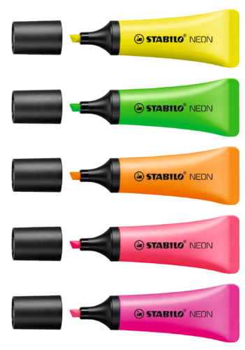 Highlighter Stabilo NEON